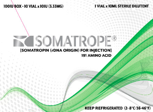 USA domestic- HGH SOMATROPE 100 iu kit